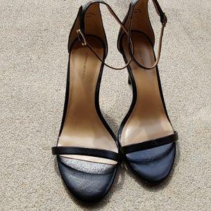 Banana Republic Black Sandle Heels